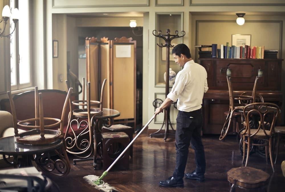 limpieza restaurante